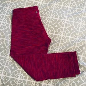 Lululemon 3/4 Luon Tights Size 8